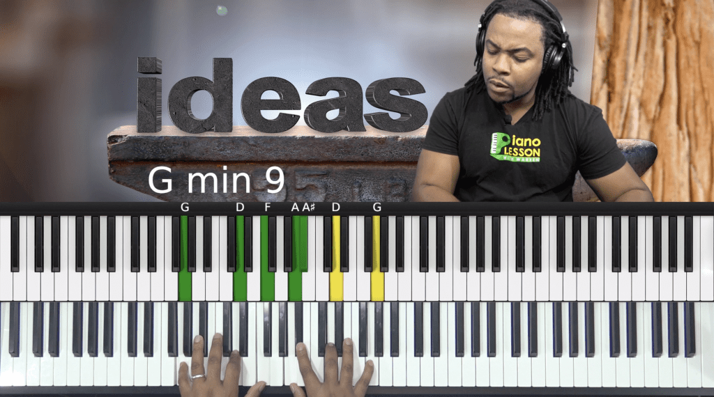 Gospel Passing Chord - In The Key Of C – Piano Lesson With Warren